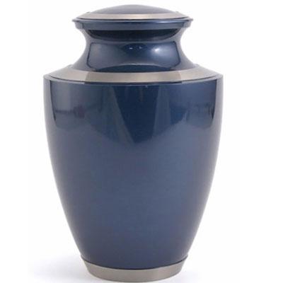 Blue Cremation Urns