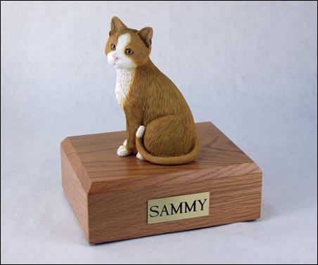 O - Cat Figurine Urns