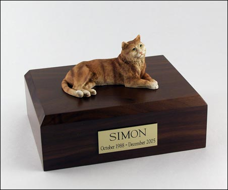 T - Cat Figurine Urns