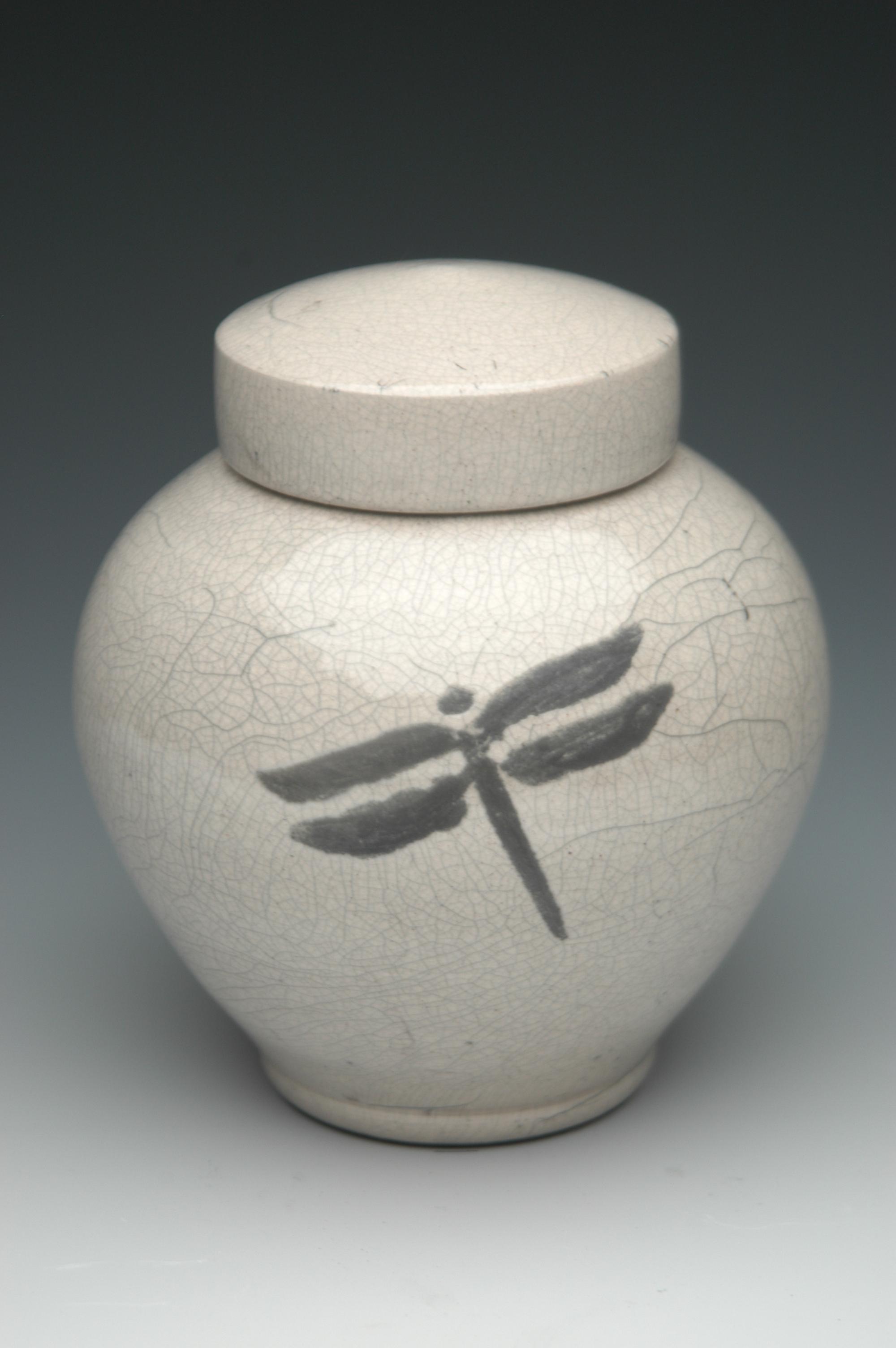 Ethereal Raku Urn Memorial Urns