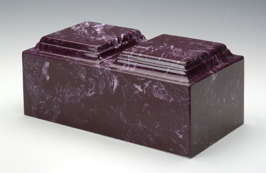 Companion Cultured Marble Cremation Urn Memorial Urns