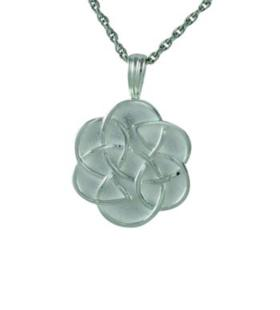 Celtic flower pendant Cremation Urn