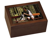 Medium Photo Pet Cremation Urn