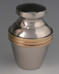 Apollo Brass Keepsake Cremation Urn