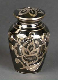Bella Brass Keepsake Cremation Urn