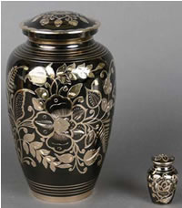 Bella Brass Cremation Urn