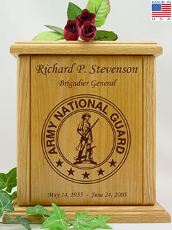 Army National Guard Cremation Urn
