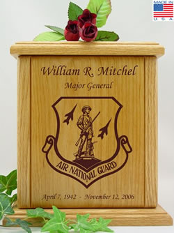 Air National Guard Cremation Urn