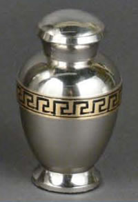 Embassador Brass Keepsake Cremation Urn