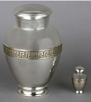 Embassador Brass Cremation Urn