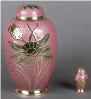 LeFluer Brass Cremation Urn
