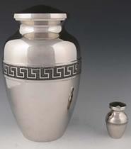 Marquis Solid Brass Cremation Urn