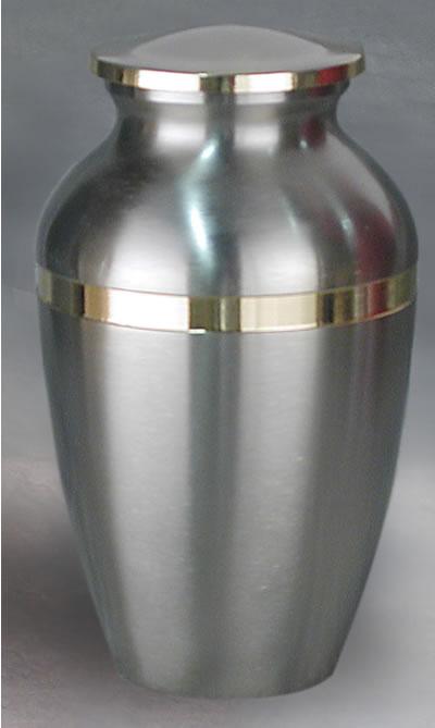 Argento I Brass Cremation Urn