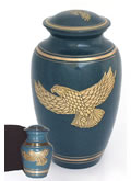 Golden Eagle Patina Cremation Urn