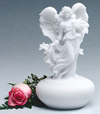 Infinity Angel Keepsake Cremation Urn
