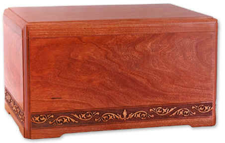 Majesty Cherry Hardwood Cremation Urn