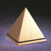 Bronze Pyramid Cremation Urn