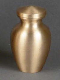 Princeton Brass Keepsake Cremation Urn