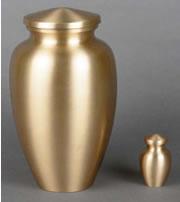 Princeton Brass Cremation Urn