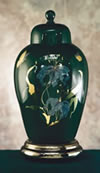 Green Capri Cremation Urn