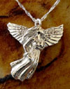 Angel Cremation Keepsake Pendant Urn
