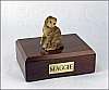 Scottish Fold, Brown Tabby Cat Figurine Cremation Urn