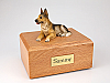 German Shepherd Dog Figurine Cremation Urn