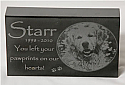 Photo Laser Engraved Granite Memorial Marker
