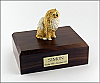 Pomeranian, Brown Dog Figurine Cremation Urn