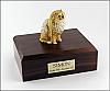 Pomeranian, Brown Dog Figurine Cremation Urn