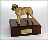 Bull Mastiff Standing Dog Figurine Cremation Urn