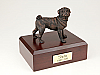 Pug, Bronze Dog Figurine Cremation Urn