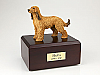 Afghan Hound yellow Standing Dog Figurine Urn