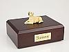 Labrador, Yellow Laying Dog Figurine Cremation Urn