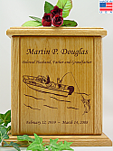 Deep Sea Fishing Cremation Urn