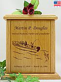Deep Sea Fishing Cremation Urn