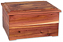 Cedar Wood Extra Large Cremation Urn