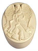 Angel with Flowers Keepsake Box