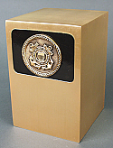 Coast Guard Bronze Cremation Urn