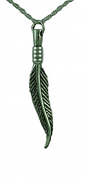 Feather Pendant Cremation Urn