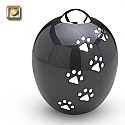 Adore Paws Pet Cremation Urns in Midnight