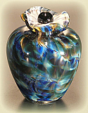 Bella Art Glass Keepsake Urn