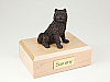 Chow Chow, Bronze Dog Figurine Cremation Urn