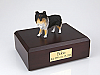 Sheltie, Tri-Color Dog Figurine Cremation Urn