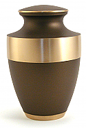 Rustic Bronze Cremation Urn