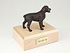 Brittany,Bronze Standing Dog Figurine Cremation Urn