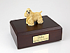 Cocker, Blond - Standing  Dog Figurine Cremation Urn