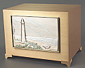 The Lighthouse Bronze Cremation Urn