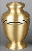 Pedestal Brass Cremation Urn