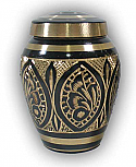 Tallis Brass Keepsake  Urn